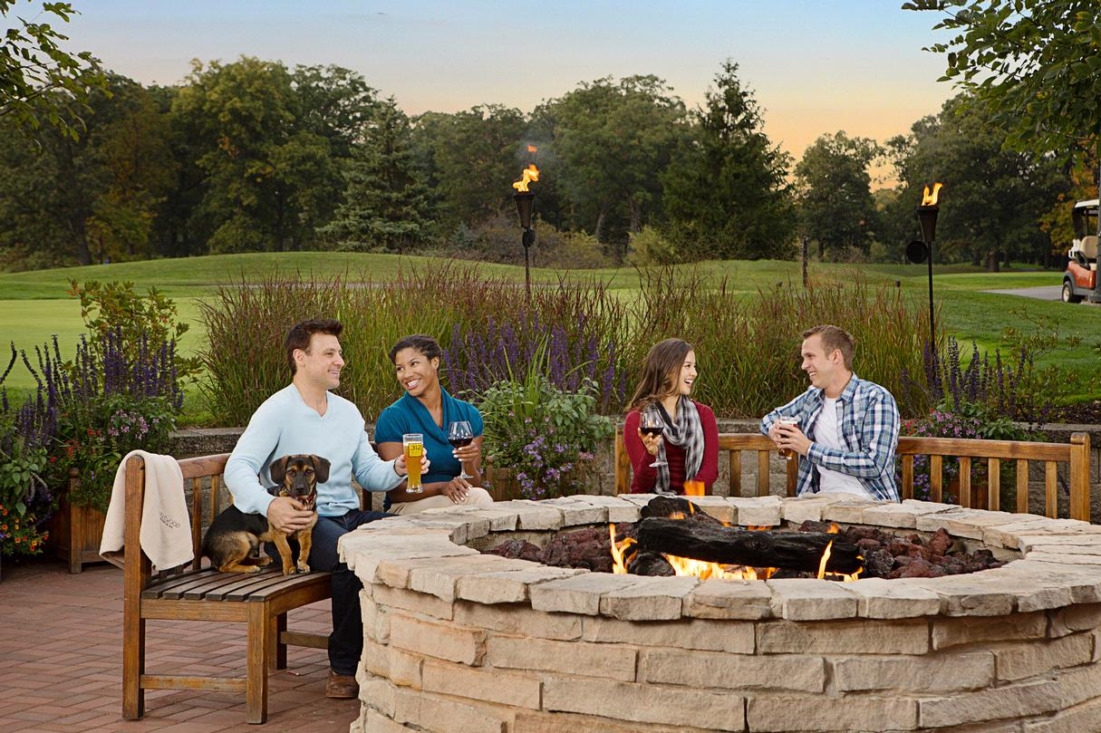 Prairie River Fire Pit & Patio