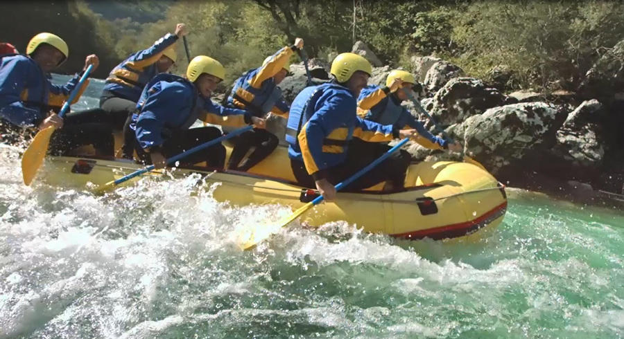 Rafting Video Still