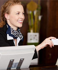 Concierge With Room Key